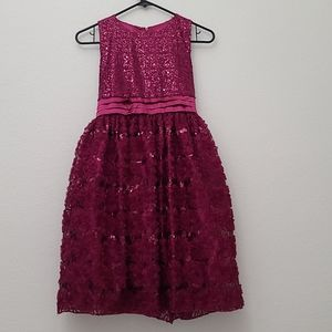 Special Editions Girls Sequin Dress